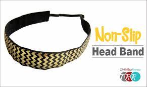 non slip headbands how to make a non slip workout headband theribbonretreat
