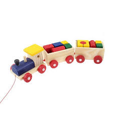wooden building blocks train mom u0026 milly