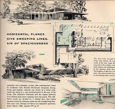Mid Century Modern House Plan 96 Best Retro House Plans Images On Pinterest Architecture