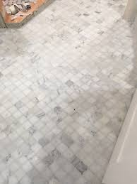 Marble Mosaic Floor Tile Tiles Design Mosaic Bathroom Floor Tile Carrara White