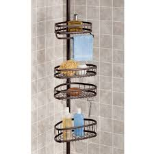 amazon com interdesign york constant tension shower caddy