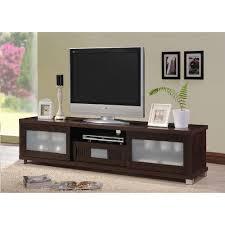 entertainment centers with glass doors baxton studio gerhardine dark brown wood storage entertainment