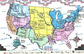 Native American Tribes Map Maps Of The Past Osher Map Library