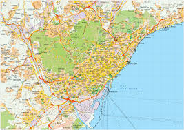 map vector barcelona map vector eps illustrator map our cartographers