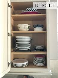 how do you arrange dishes in kitchen cabinets organization ideas for a kitchen cabinet overhaul kelley nan