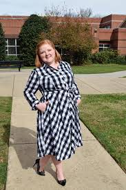 trying something new the gingham shirtdress with wonder and whimsy