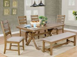 xochil dining set with bench 790 34 furniture store shipped