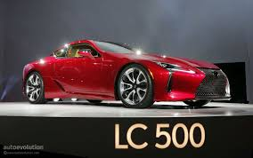lexus performance coupe the lexus lc could get f version with twin turbo v8 autoevolution