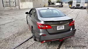 nissan sentra body kit 2017 nissan sentra nismo first drive a modest performance