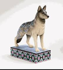 jim shore heartwood creek german shephard figurine schultz