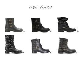 motorcycle style boots 42 biker boots u003d wardrobe staple style barista