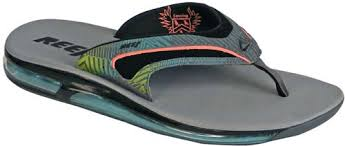 reef fanning flip flops womens reef fanning o2 sandal grey multi for sale at surfboards com
