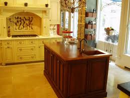 islands in a kitchen copper countertops brooks custom