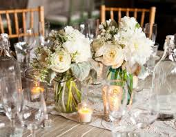 jar center pieces candle wedding centerpieces with jarswedwebtalks wedwebtalks