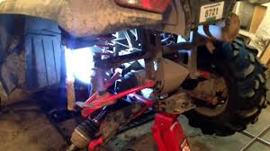 2006 polaris sportsman 500 efi loose rear bushings youtube
