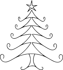 christmas line drawing cliparts craft holidays pinterest