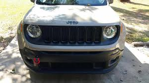 jeep plasti dip thoughts on grille jeep renegade forum