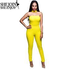 plus size bodycon jumpsuit shejoinsheenjoy 2016 summer rompers womens jumpsuit plus size