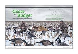 Homemade Goose Blind Geese On A Budget