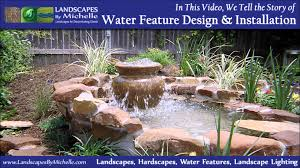 water features ponds water falls waterfalls man made ponds