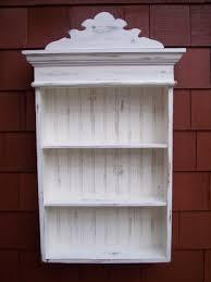 wall shelving unit white