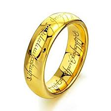 the one ring wedding band the geekiest engagement and wedding rings of our time forevergeek