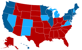 Us Election Results Map by A Statistician Explains Why Most Headlines About Electability Are