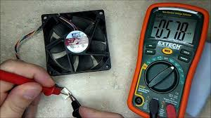 how to test a faulty computer fan youtube