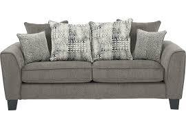 sofia vergara mandalay charcoal sofa living room sofas couches reclining power futon etc