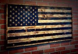 wooden american flag wooden flag us flag wood american
