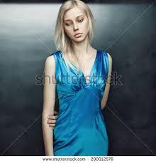 beauty portrait beautiful blonde model stock photo 614380382