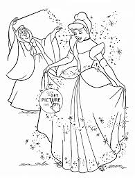 princess cinderella coloring page for kids disney princess