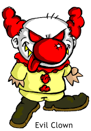 scary halloween clown clip art u2013 clipart free download