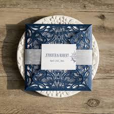 navy blue wedding invitations marialonghi