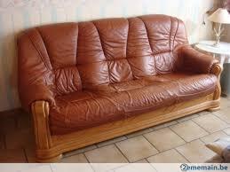 canapé 100 euros canapé cuir 3 places 2 fauteuils pour 100 00 euros a vendre