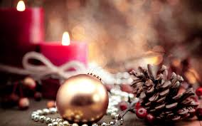 new year christmas ornaments cones candles wallpapers hd