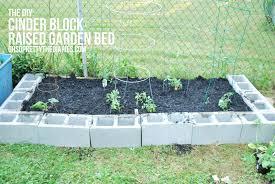 cinder block raised bed garden design ktactical decoration