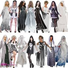 zombie bride spirit halloween ladies ghost halloween spirit corpse bride haunting fancy dress