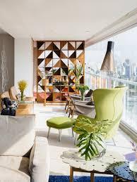 Brazilian Interior Design by Ibirapuera Apartment Mix Of Contemporary And Brazilian Modern