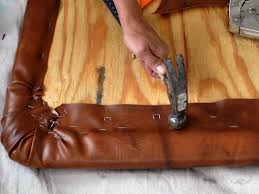 diy leather like headboard project how tos diy