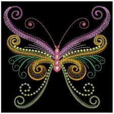 neon swirls butterfly embroidery designs machine embroidery designs