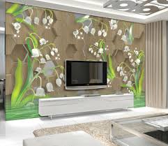 online get cheap tulip wall mural aliexpress com alibaba group modern fashion 3d wallpaper crystal tulip wall murals for living room tv background wall bedroom water