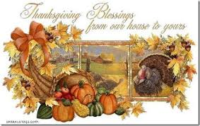 Blessed Thanksgiving Thanksgiving The Ness In Darcness