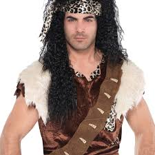 party city men halloween costumes mens stoneage caveman cave jungle safari costume party halloween