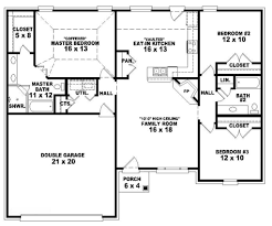 split level house plan house plans 3 bedroom single story house plans home plans with