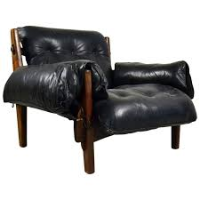 Bossanova Contemporary Leather Dining Room Early Mischievous Or Mole Lounge Chair By Brazilian Sergio