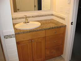 bathroom backsplash designs sink backsplash excellent 16 unique bathroom sink backsplash ideas