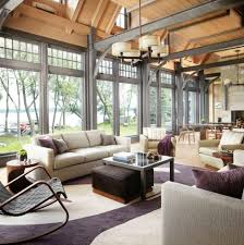interior awesome vaulted ceiling living room decorating luxury