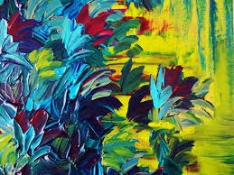 free shipping flowers floral abstract painting free shipping flower acrylic 12 x