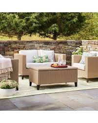 Bargains On Fullerton Pc Wicker Patio Furniture Set Linen - Threshold patio furniture